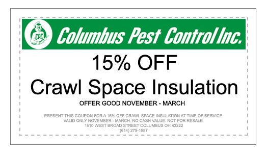 Crawl Space Insullation Coupon